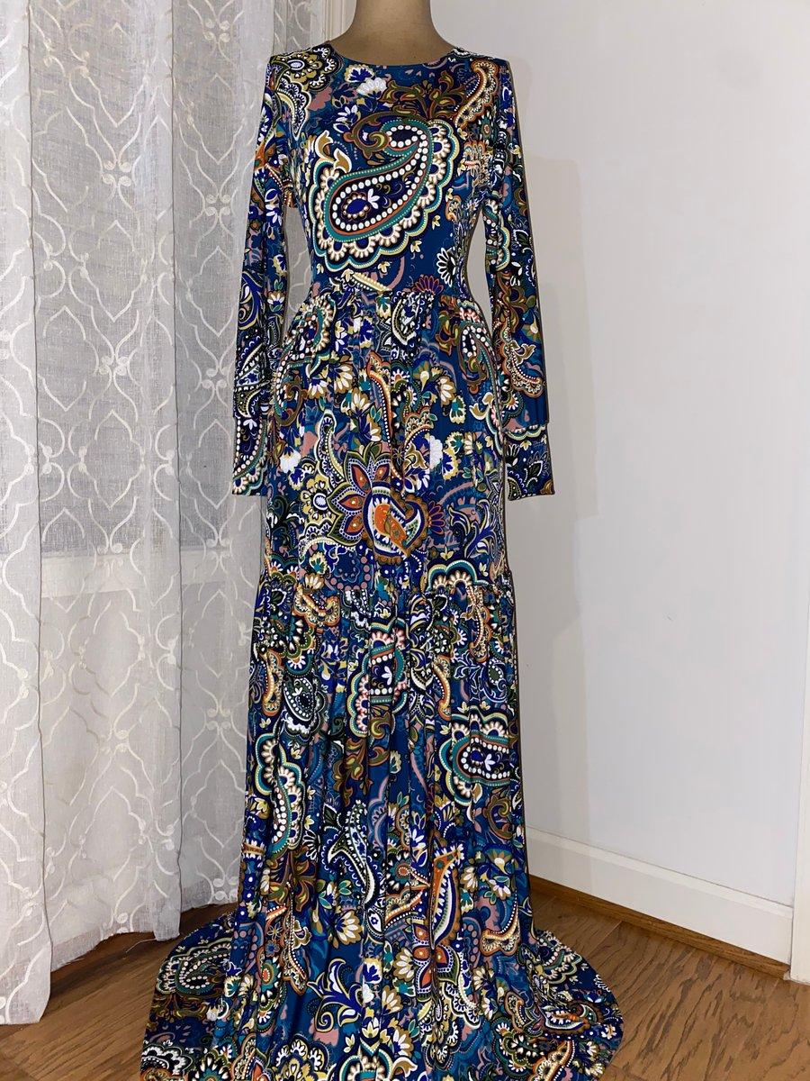 Image of Paisley Tier Garment