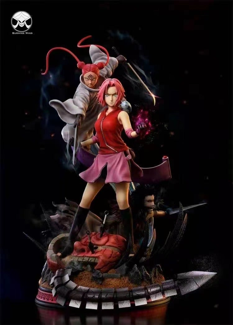Image of [Pre-Order]Naruto Burning Wind Studio Sakura 1:7 Resin Statue