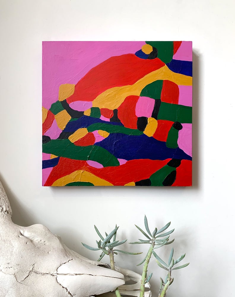 Image of #582-Original Acrylic Painting