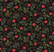 Image of Snowed In Berries Black