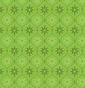 Image of Snowed In Medallion Green