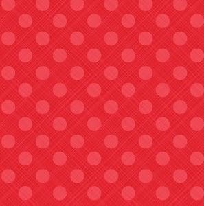 Image of Snowed In Sketch Dot in Red