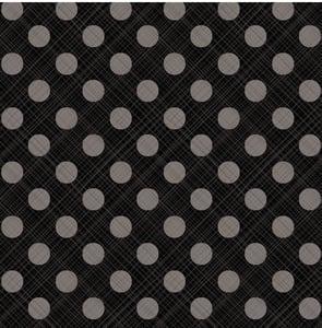 Image of Snowed In Sketch Dot in Black