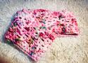 Sweetie the Crocheted Chunky Woollen Cowl