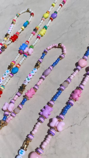 Image of Phone beads orsetto