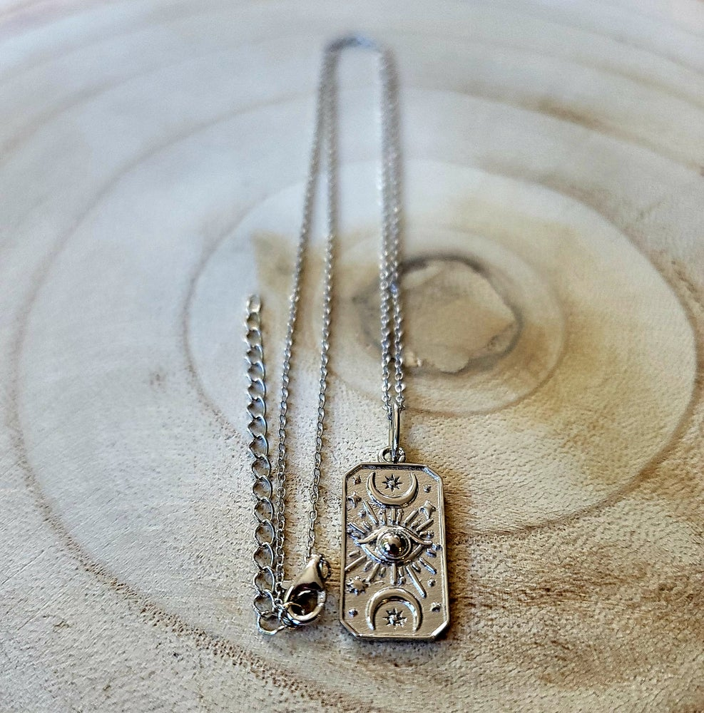 Image of CELESTIAL NECKLACE - Gold and Sterling Silver