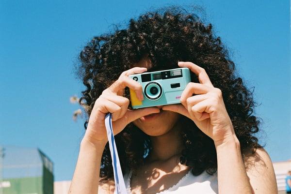 Image of dubblefilm SHOW turquoise