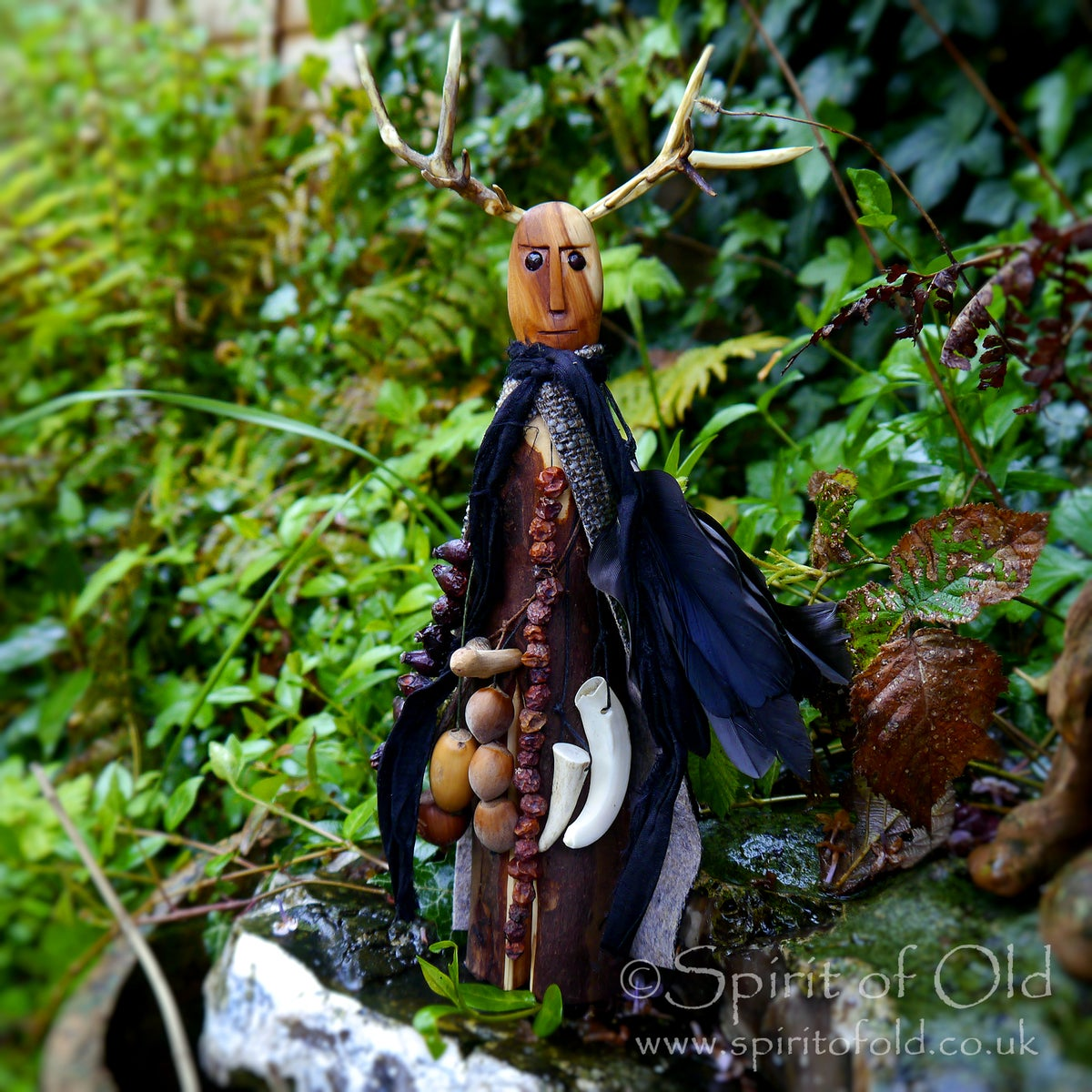 Image of Yew Root Forest God figure (TS051)