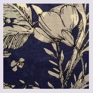 Image of Tissu:  draw me a flower bouquet