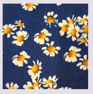 Image of Tissu: pretty daisies
