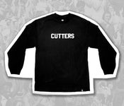 "Image of ""Cutters"" Tee, Long Sleeve, Black"