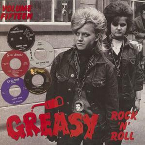 Image of LP. V.A. : Greasy Rock n Roll Vol 15, 14, 13, 12, 11, 10 & 9.