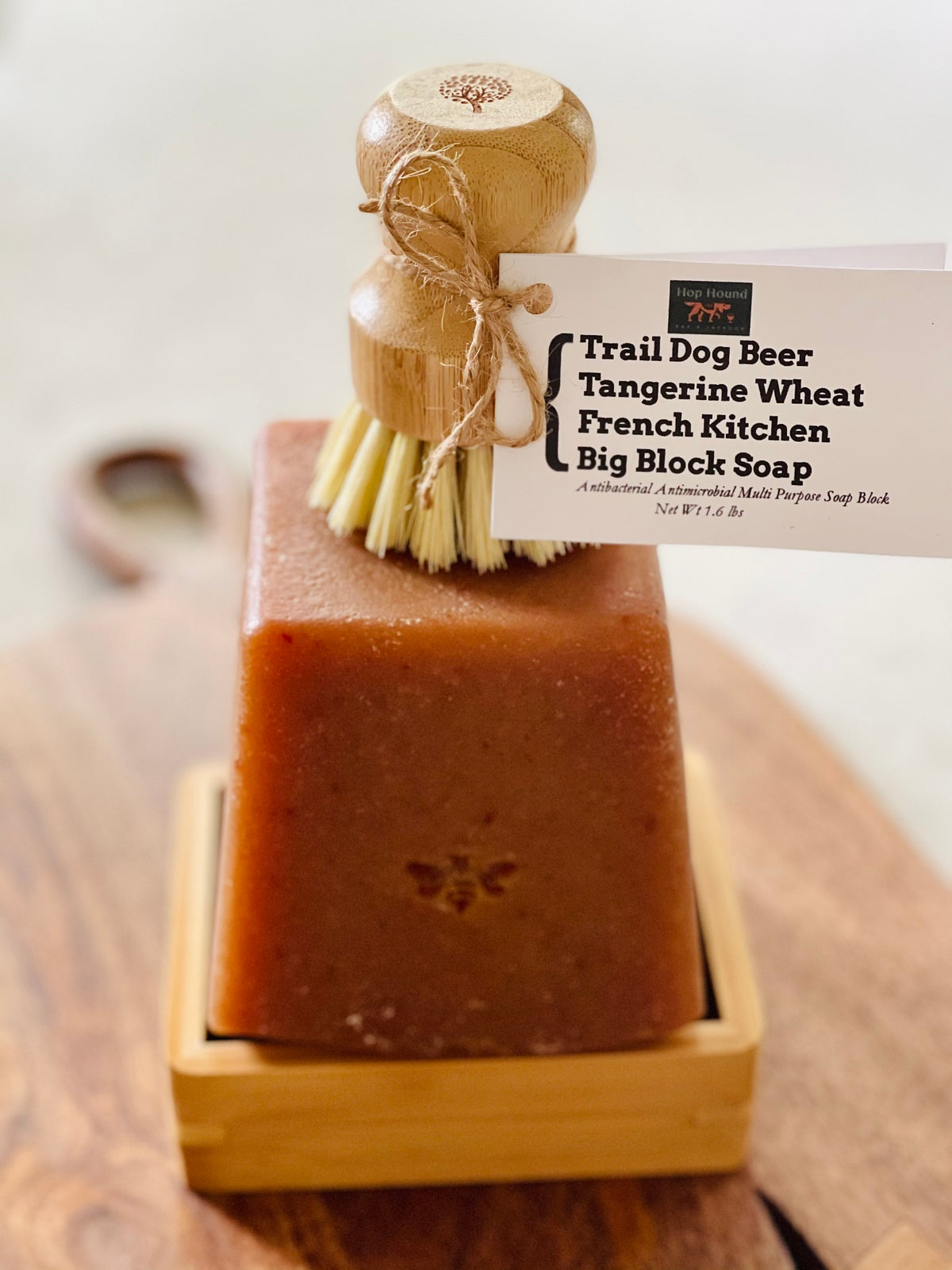 Trail Dog Beer Tangerine Wheat French Kitchen Big Block Soap
