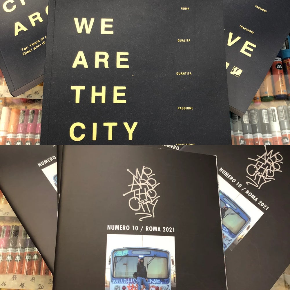 Image of WE ARE THE CITY 10 o RACCOLTA