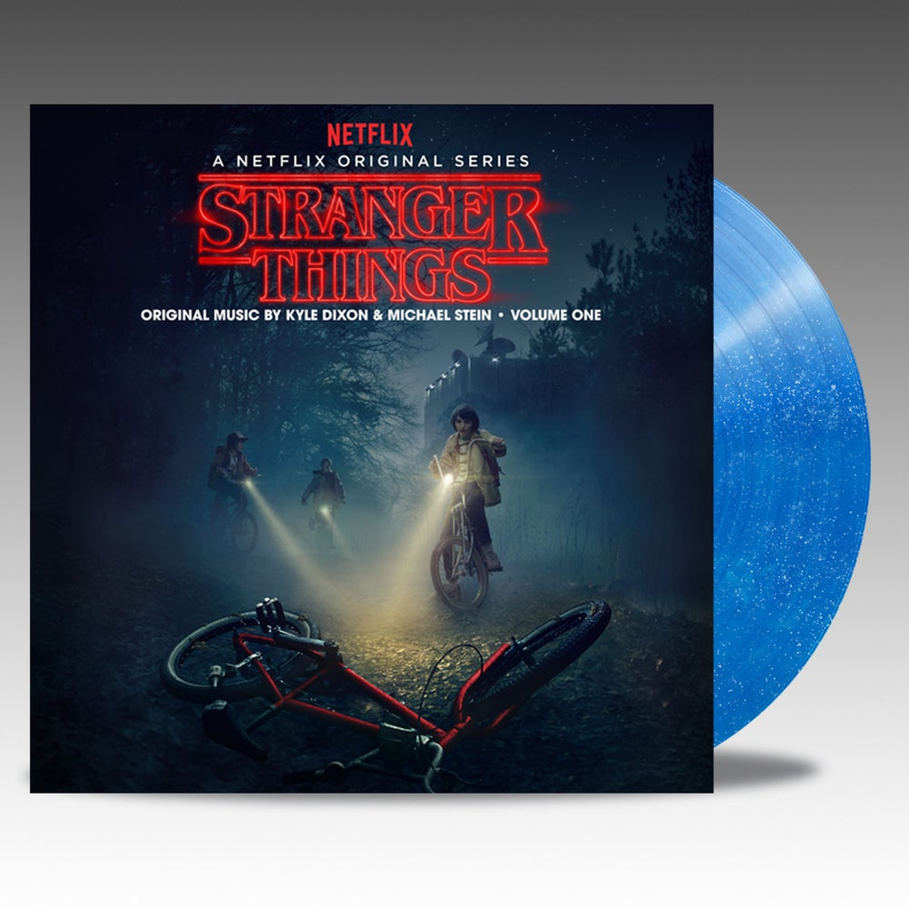 "Image of Stranger Things Season One Volume One 'Blue Glitter ""Star Field Vinyl' - Kyle Dixon & Michael Stein"
