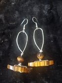 Tigers Eye Crystal Earrings Collection (1)