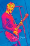 Paul Weller at the Northampton Royal and Derngate 02.04.17 FAT POP A2 Size Print