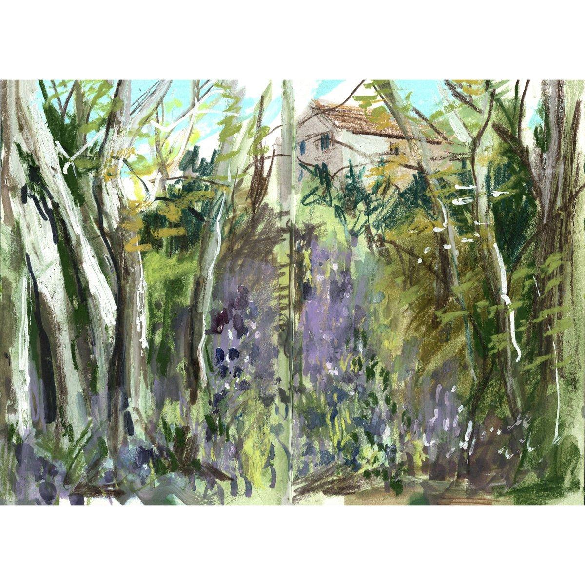 Image of Spring Sketches - Sketchbook Zine