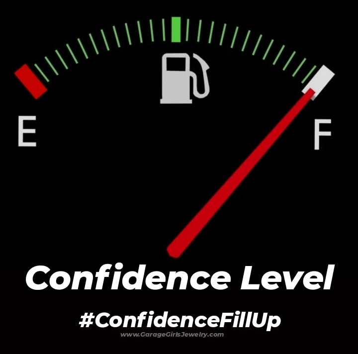 Image of Confidence Level Gas Guage Men's Tee