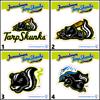 Jamestown Tarp Skunks Stickers
