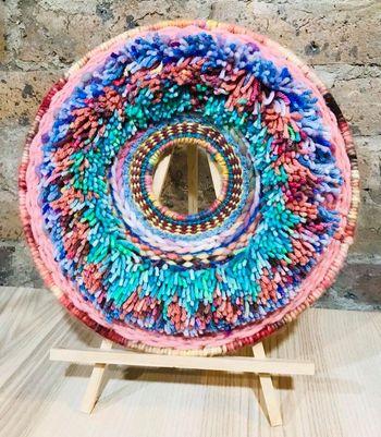 Image of Colour Wheel Circular Weaving