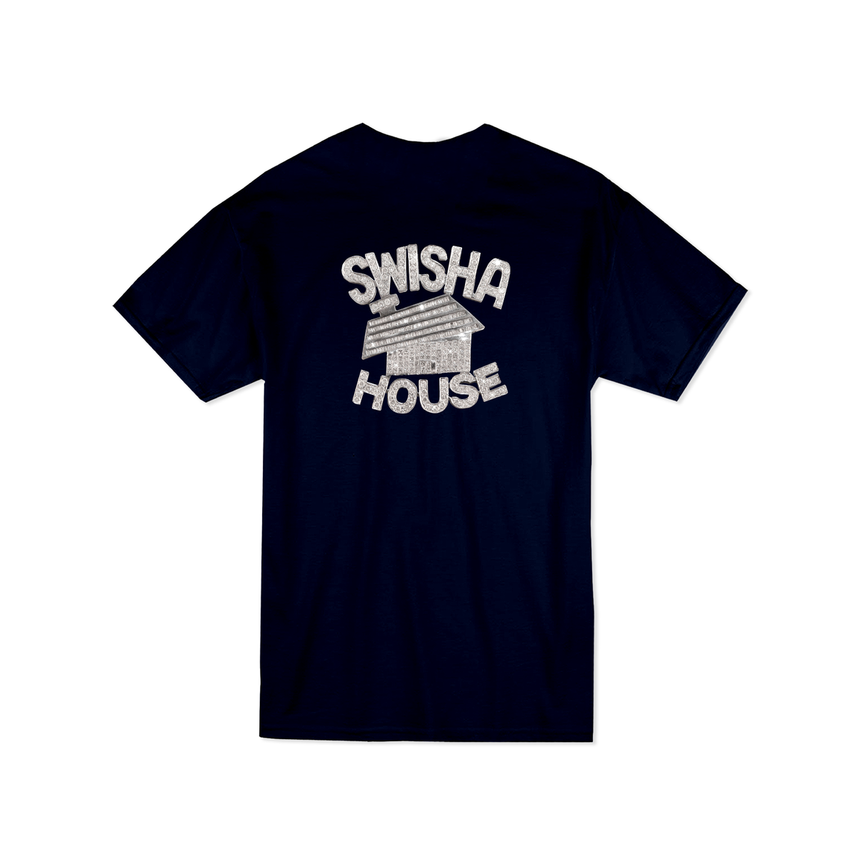 Image of Swishahouse  Navy Blue Shirt