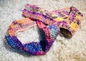 Crocheted Pastel Cowl