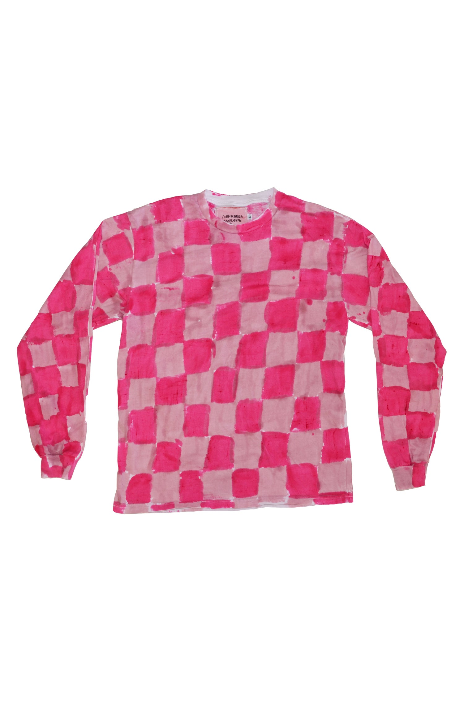 Image of hot pink long sleeve L