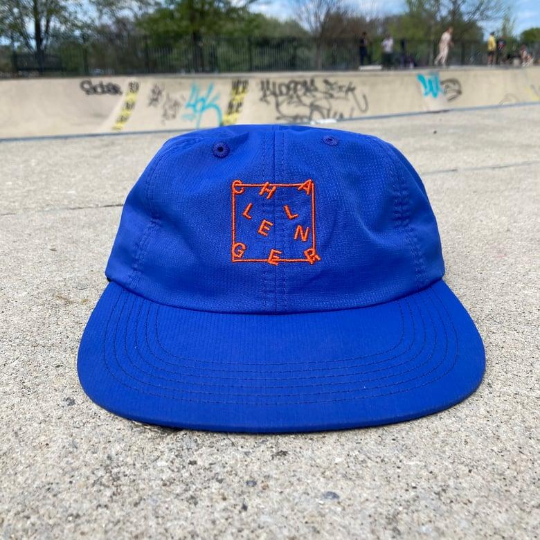"Image of ""Jumbled"" Hat - Blue"