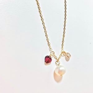 Pearl and Sterling Necklaces