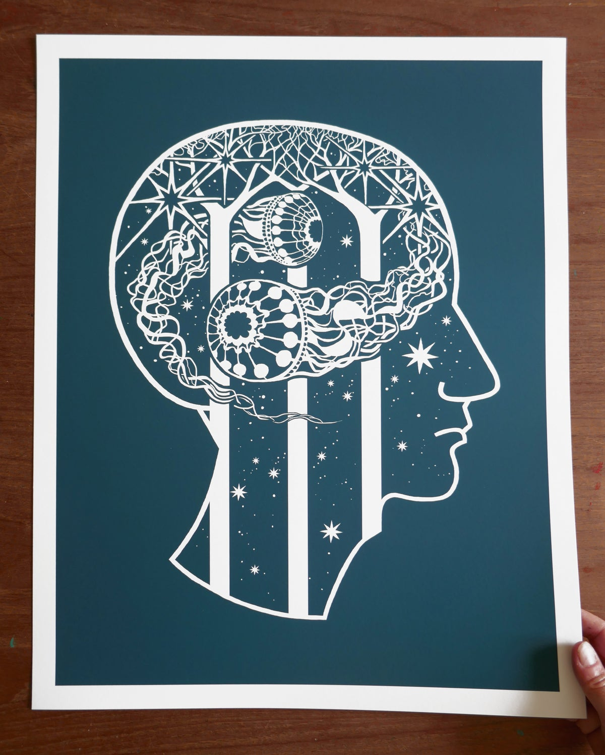 Image of Giclée print: Searching