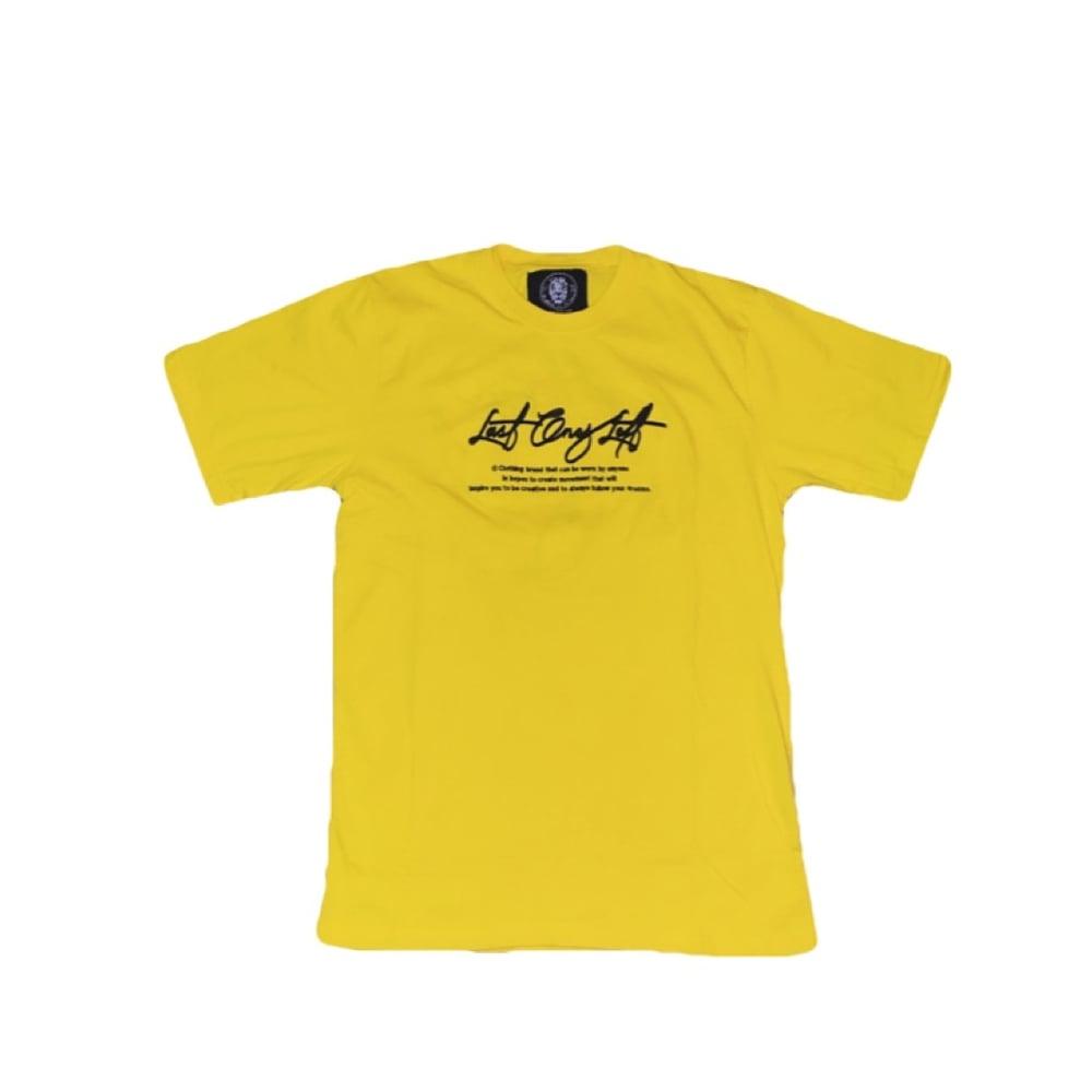 Image of Last Ones Left Spring/Summer Tee Yellow