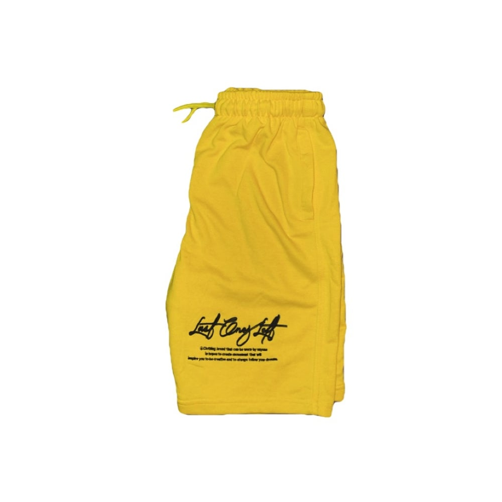 Image of Last Ones Left Spring/Summer Shorts Yellow