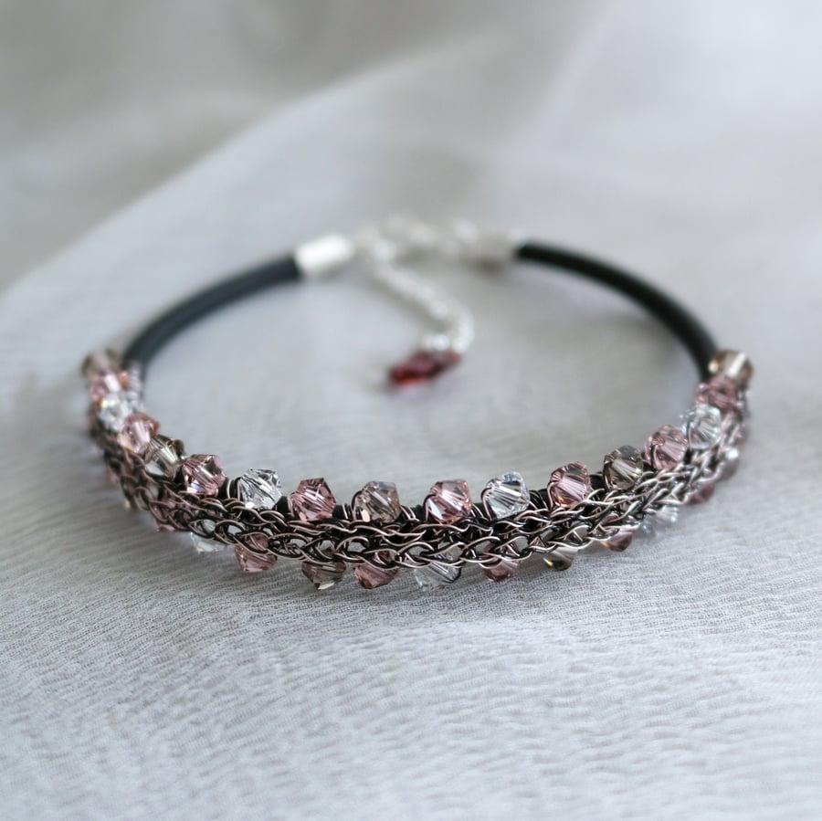 Image of LAUREL Bracelet - Vintage Rose
