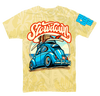 Kids Punch Buggy Blue VW Tee