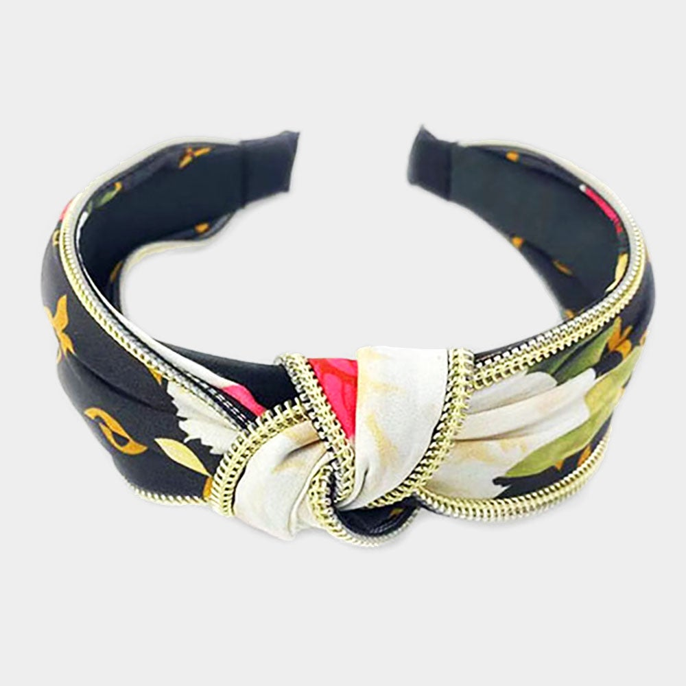 Image of Floral Knot Headband - 4 Colors