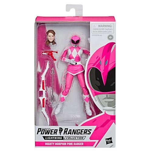 Image of Power Rangers Lightning Collection Mighty Morphin Power Rangers Pink Ranger 6-Inch Action Figure