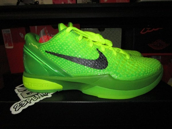 """Zoom Kobe VI (6) Protro """"Grinch"""" - areaGS - KIDS SIZE ONLY"""