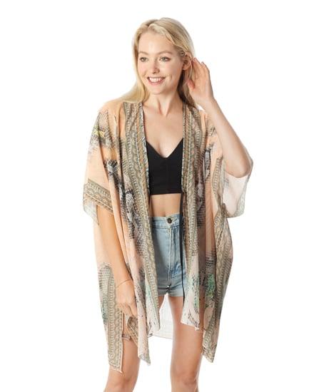 Image of Peachy Gold Kimono