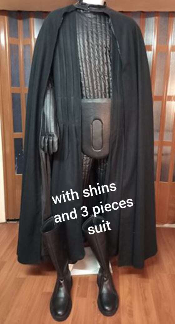 Image of VADER KIT, includes Shin armor and 3 pieces suit