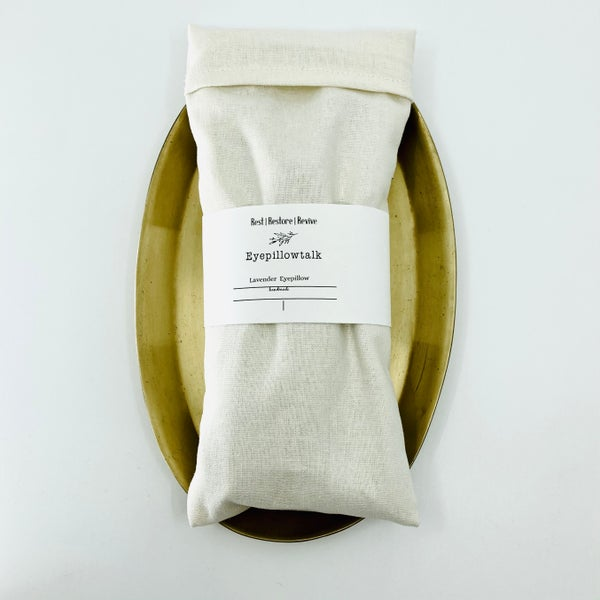Image of Organic Lavender & Flaxseed Eye Pillow