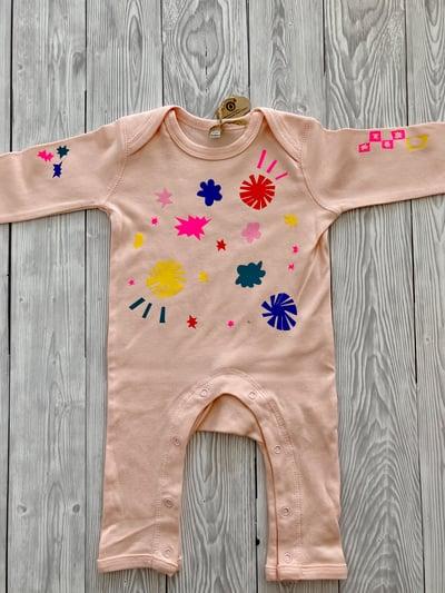 Image of Personalised Baby Romper