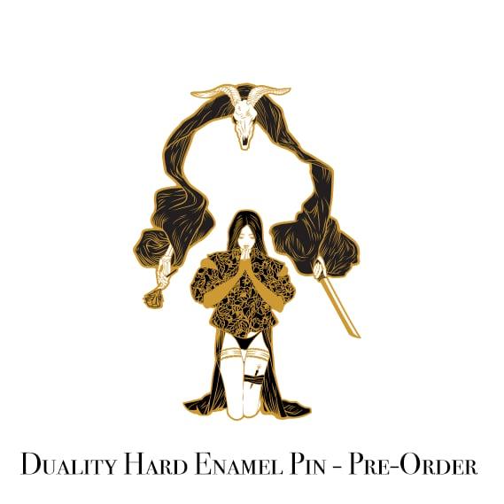 Duality Hard Enamel Pin Ft. Alex De Los Reyes