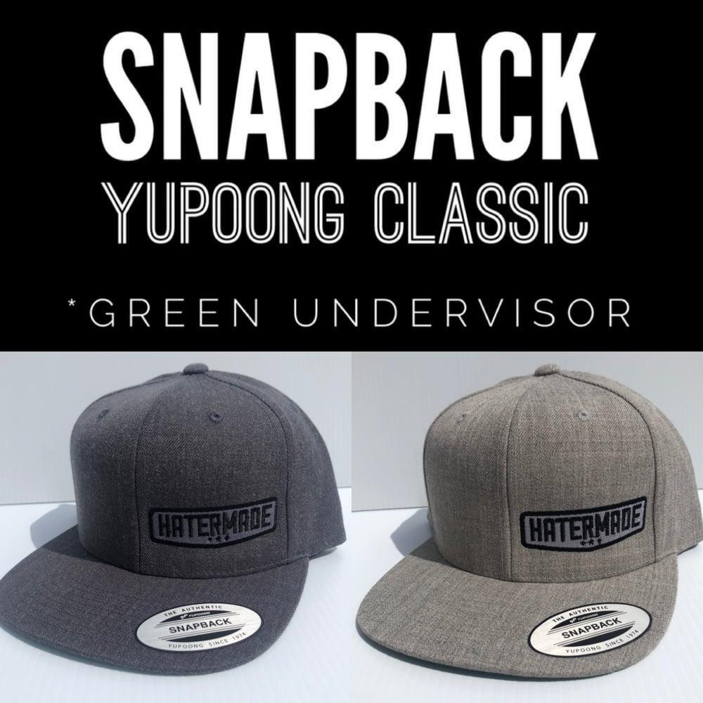 Image of SnapBack- Charcoal or Light Gray