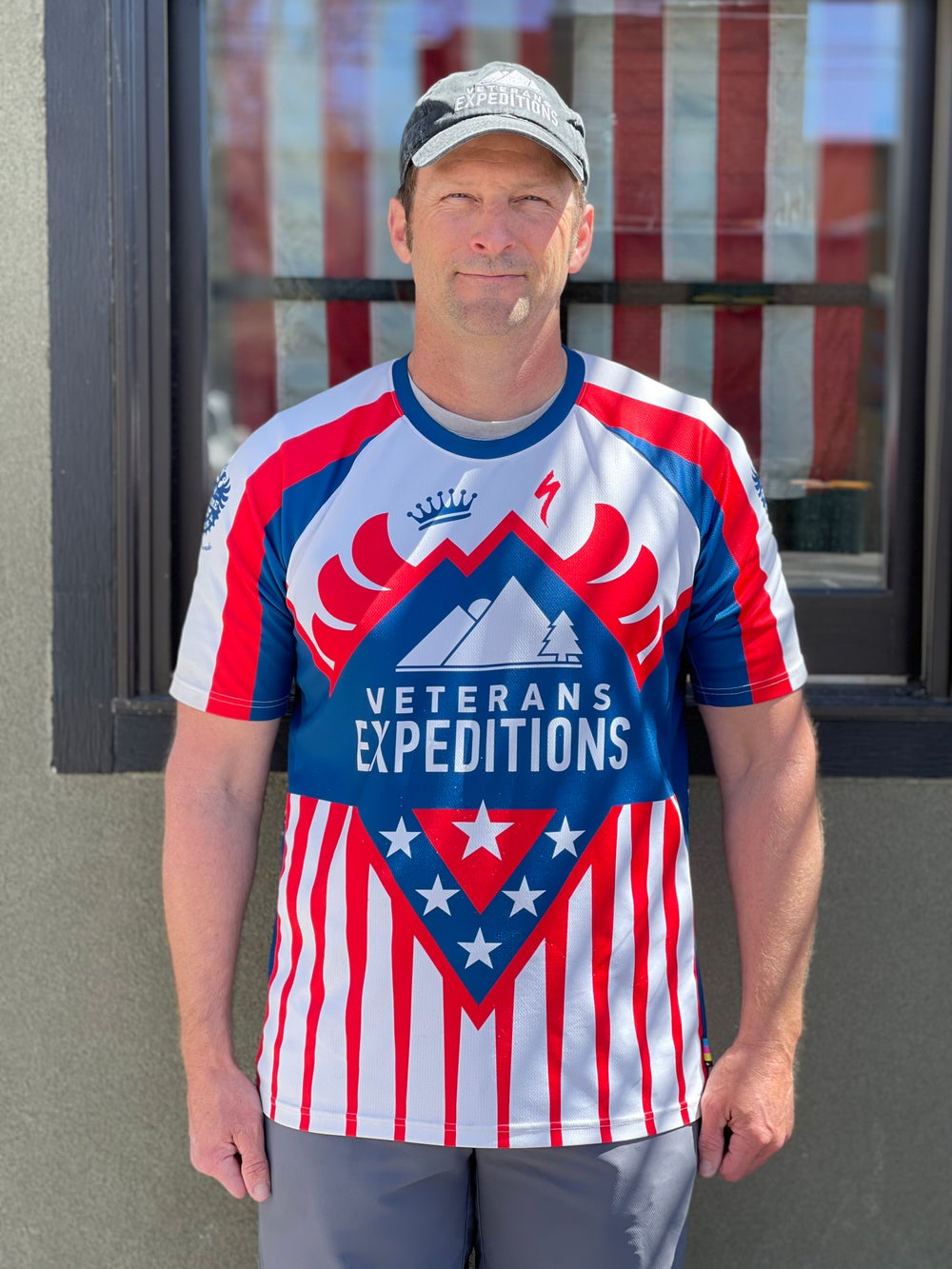 Image of Veterans Expeditions Jersey Mens SS Enduro