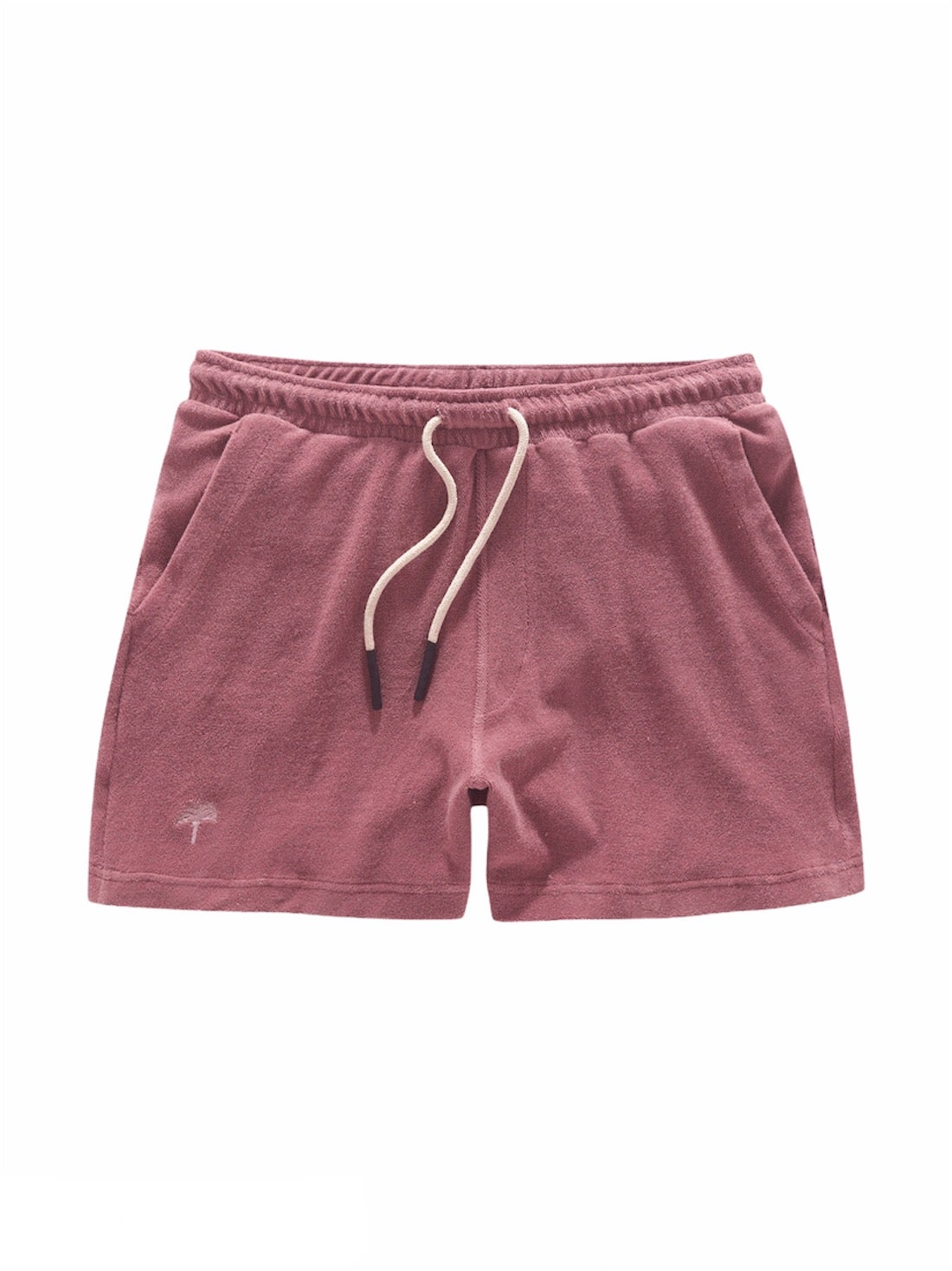 Image of OAS COMPANY Dusty Plum Terry Shorts