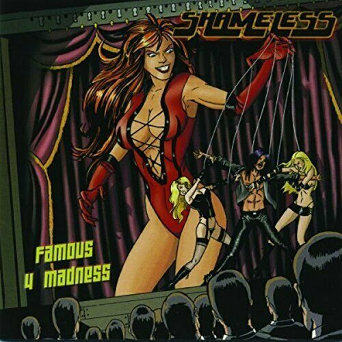 """Image of Shameless """"Famous For Madness"""" Factory CD and 12 Page Full Color Booklet"""