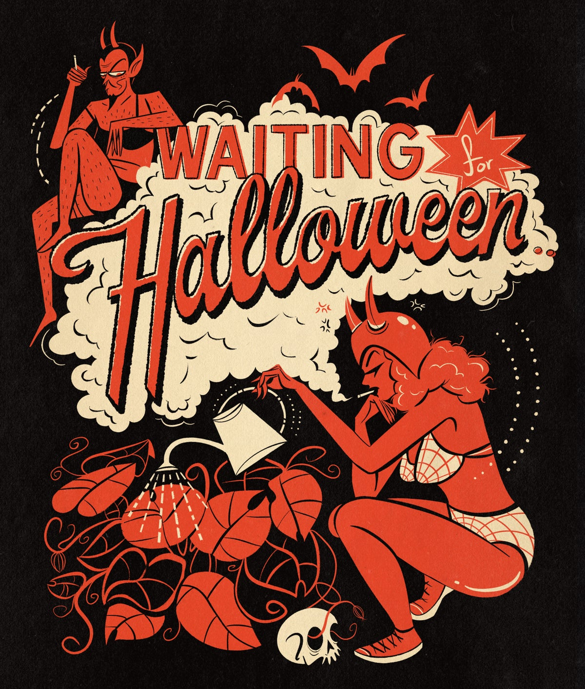 Image of Waiting For Halloween (Summer 2021) T Shirt