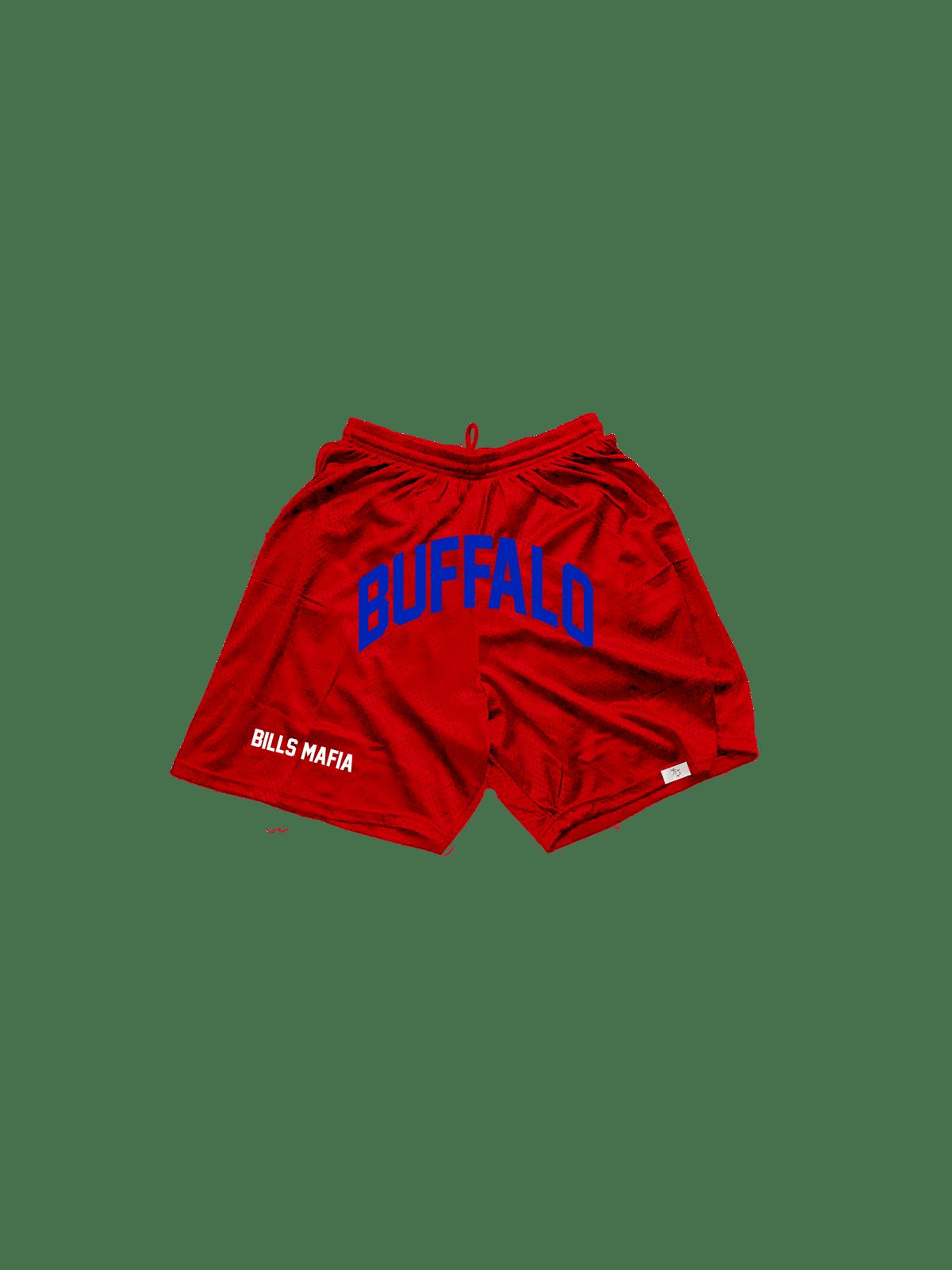 "Limited edition ""Bills Mafia"" Reverse colorway shorts"