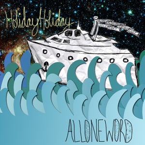 "Image of HolidayHoliday - AllOneWord 7"" Vinyl"